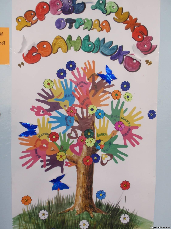 Как сделать бумажное дерево для детей 90